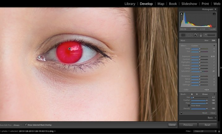 technical guidance in lightroom 13