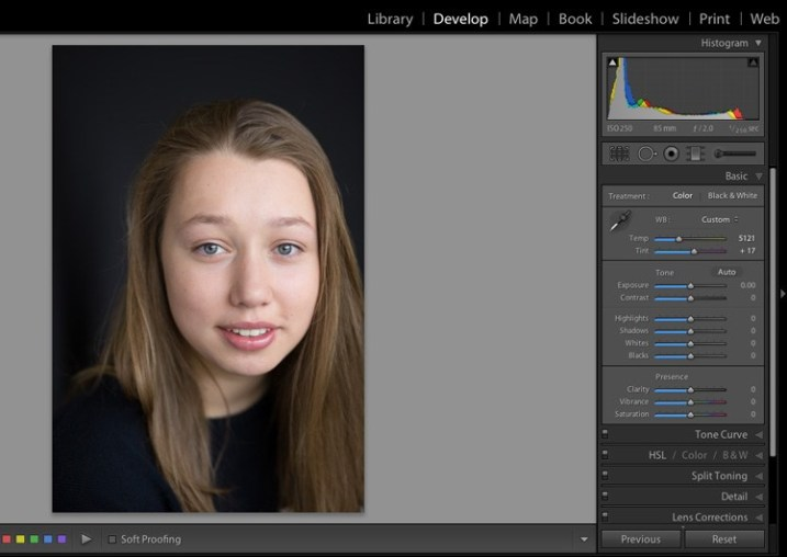 technical guidance in lightroom 4
