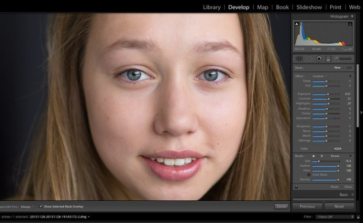 guide to the light in the lightroom 8