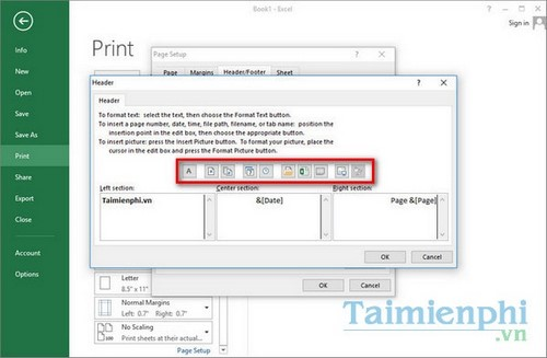 Print at Excel documents