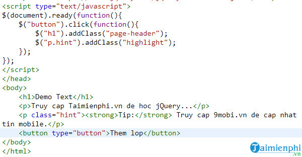 how to add and delete css bang jquery