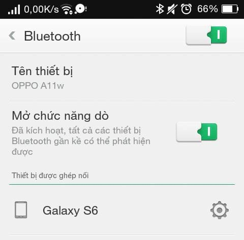 Bluetooth connection between phone and computer with bluesoleil 4