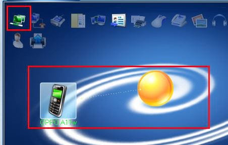 Bluetooth connection between phone and computer with bluesoleil 8