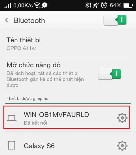 Bluetooth connection between phone and computer with bluesoleil 9