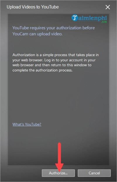 Link to download youtube video on cyberlink youcam 6