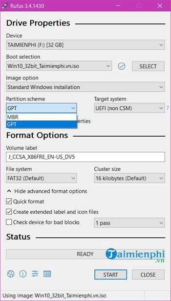 when can i boot usb with windows bang rufus 3