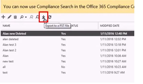 Delete emails deleted in Office 365 9