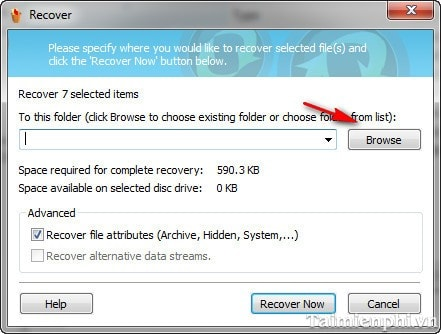How to recover data from Pandora Recovery PC