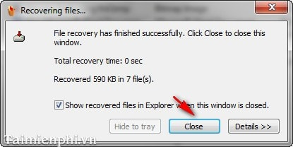 How to install data recovery using Pandora Recovery