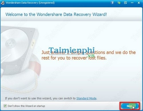 How to recover data with wondershare data recovery