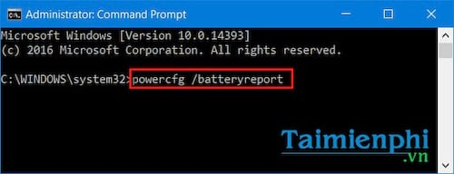 Check the status of laptop battery not using software
