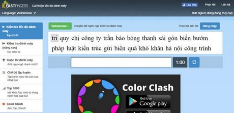 How to check hair by Vietnamese language 10fastfinger