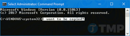 make command prompt on windows 10 4