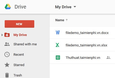 Please contact Google Drive