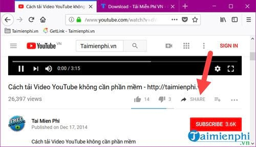 lay the youtube video link on your computer and phone 4
