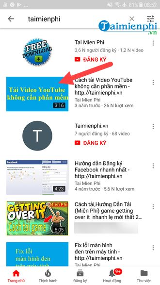lay the youtube video link on the computer and how the phone is 6