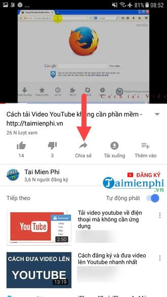 lay the youtube video link on the computer and the phone like 7