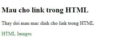 Link in html 7