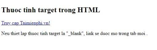 Link in html 9