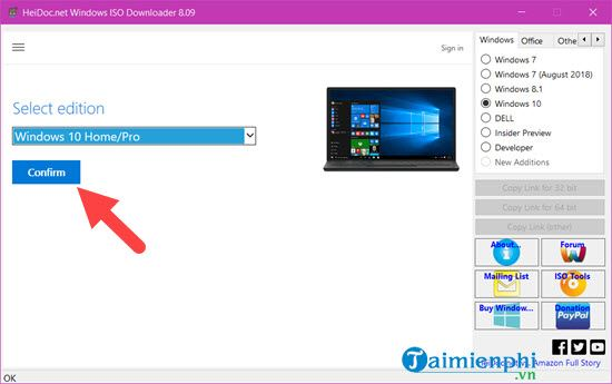 link in iso file Windows 10 32bit and 64bit cannot use media creation tool 5