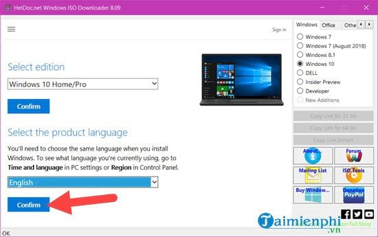 link in iso file Windows 10 32bit and 64bit cannot use media creation tool 6