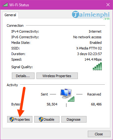 fixed the computer not connected to wifi