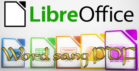 Save word file to pdf in libreoffice