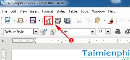 how to save word file to pdf on libreoffice
