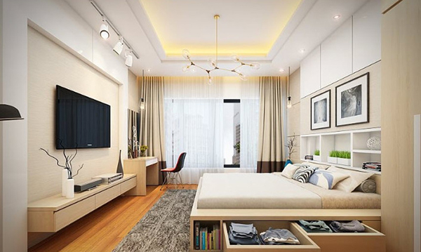 Very comfortable style, 15 m2 space
