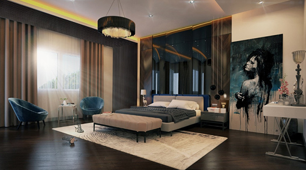 Design a beautiful 30m2 style bedroom
