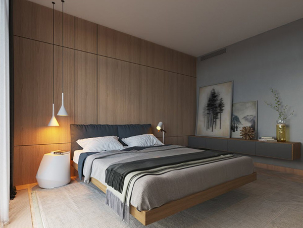 Design a beautiful bedroom style