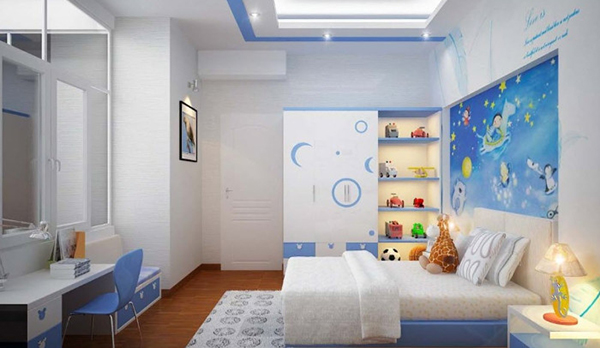 Quickly design a beautiful bedroom for delivery