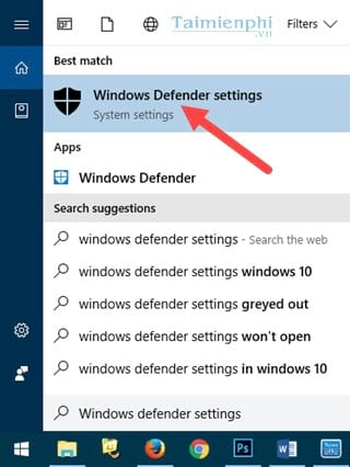 How to disable Windows Defender on Windows 10 2