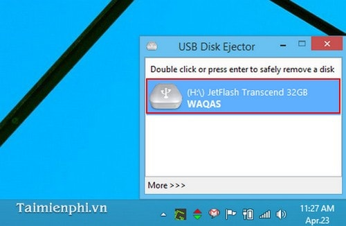 Connect safely with the USB Disk Ejector mem