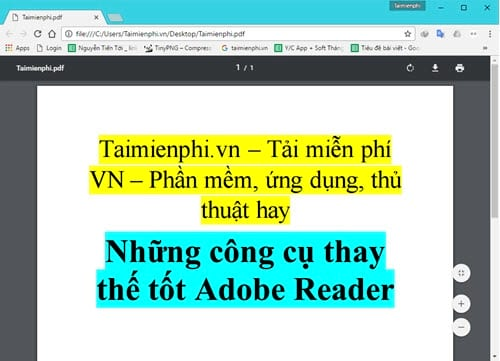 but still replace the good adobe reader 2