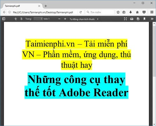 but still replace the good adobe reader 3