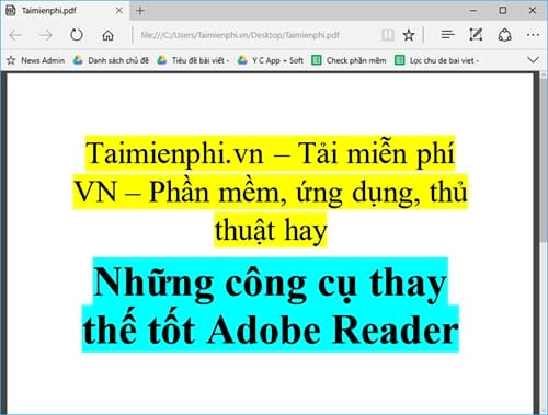 but still replace the good adobe reader 4