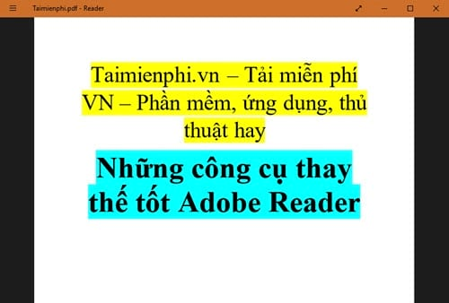 but still replace the good adobe reader 5
