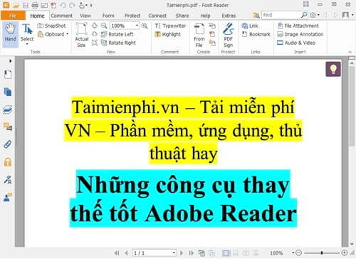 but still replace the good adobe reader 6