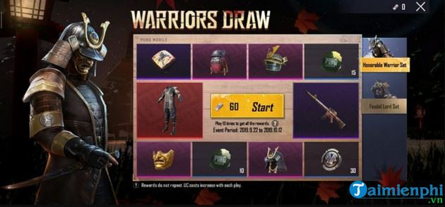 Some things need to know about warriors draw pubg mobile 3