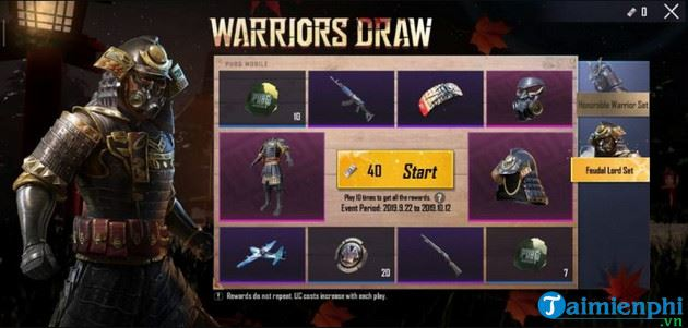 Some things need to know about warriors draw pubg mobile 4