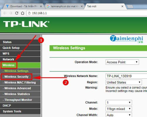 how to change wifi rate tl wa801nd 2