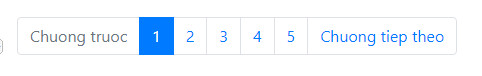 pagination in bootstrap 4