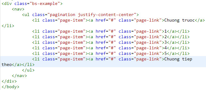 pagination in bootstrap 9