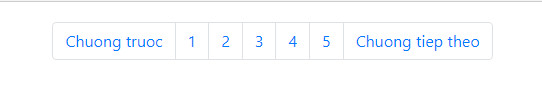 pagination in bootstrap 10