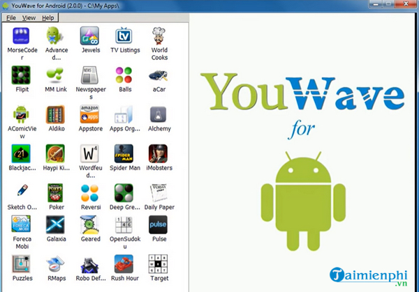 youwave Android version software