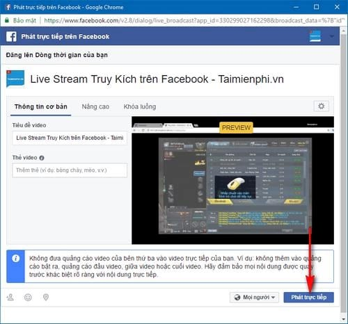 develop direct access on facebook 12