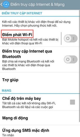 turn wifi android phone to laptop