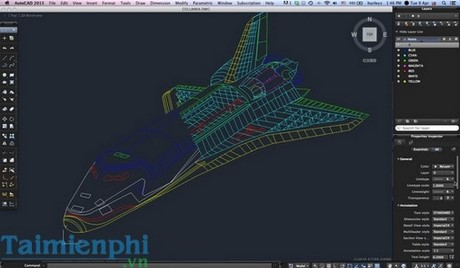 film all cad in hop lenh tat in autocad