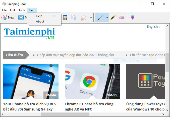 Movie snipping tool guide 11